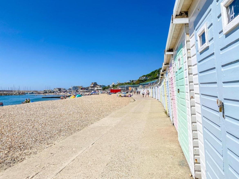 Things to do in Lyme Regis, Lyme Regis Beach Huts