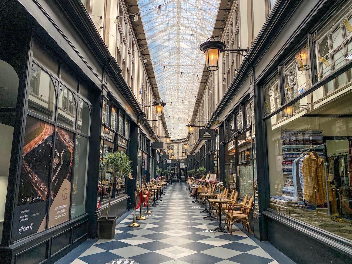 One Day in Cardiff, Cardiff Arcade