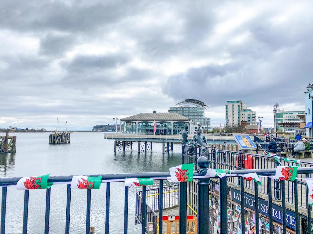 3 Day Wales itinerary, Mermaid Quay Cardiff Bay