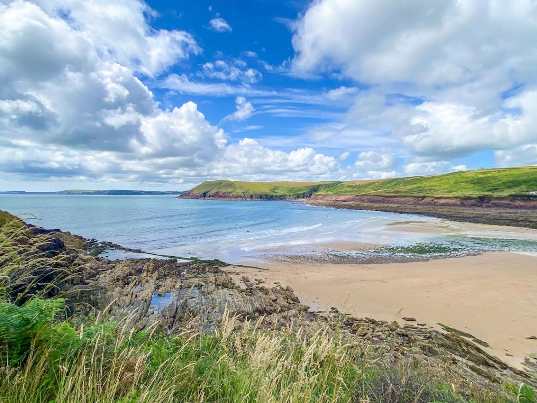Best beaches in Pembrokeshire, Manorbier Beach
