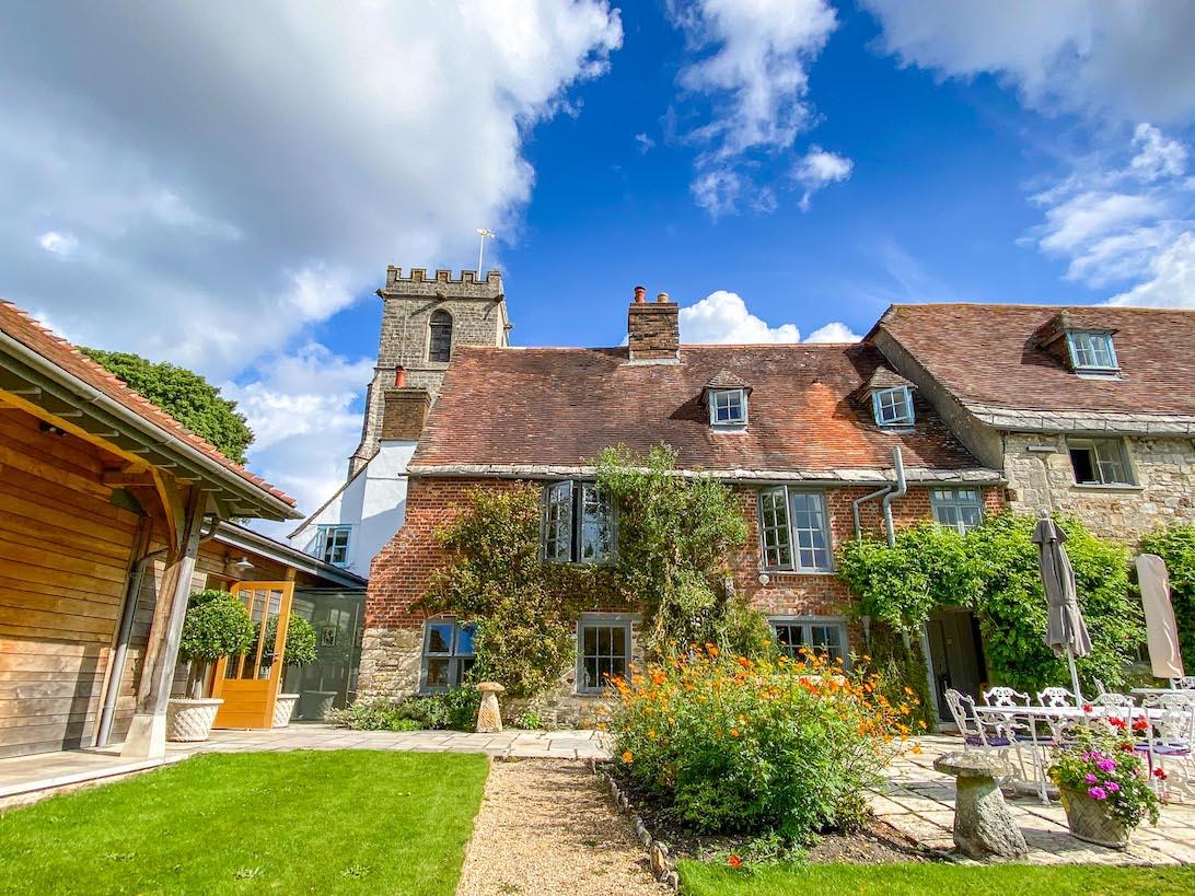London to Durdle Door, The Priory Hotel Wareham