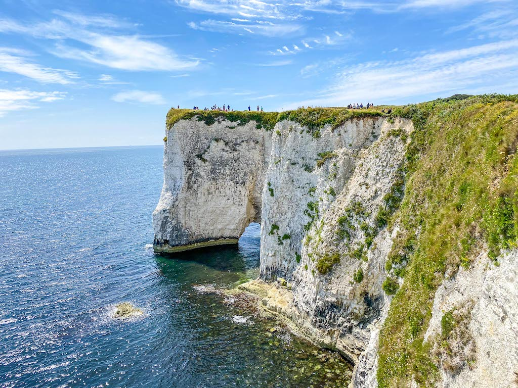 Old Harry Rocks White Cliffs