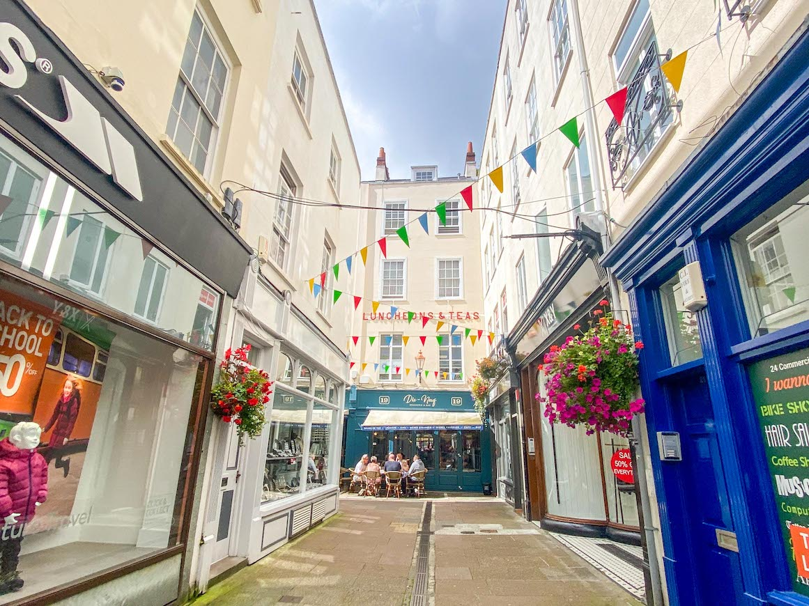 Things to do on Guernsey, St Peter Port Shopping