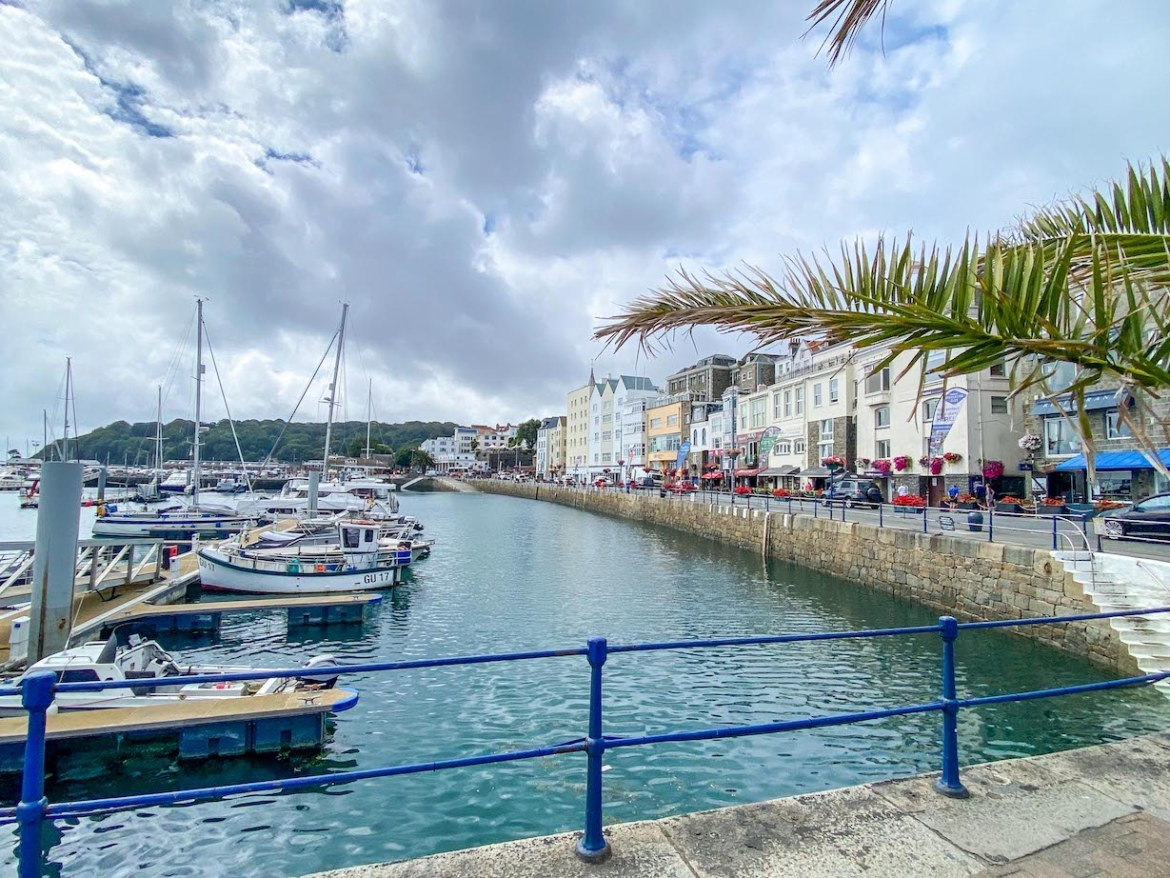 Guernsey itinerary, St Peter Port Harbour