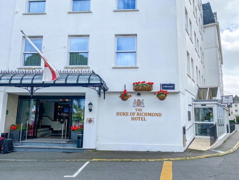 Guernsey itinerary, Duke of Richmond Hotel Guernsey