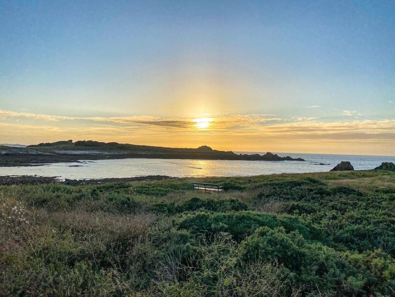 Guernsey itinerary, Cobo Bay Sunset