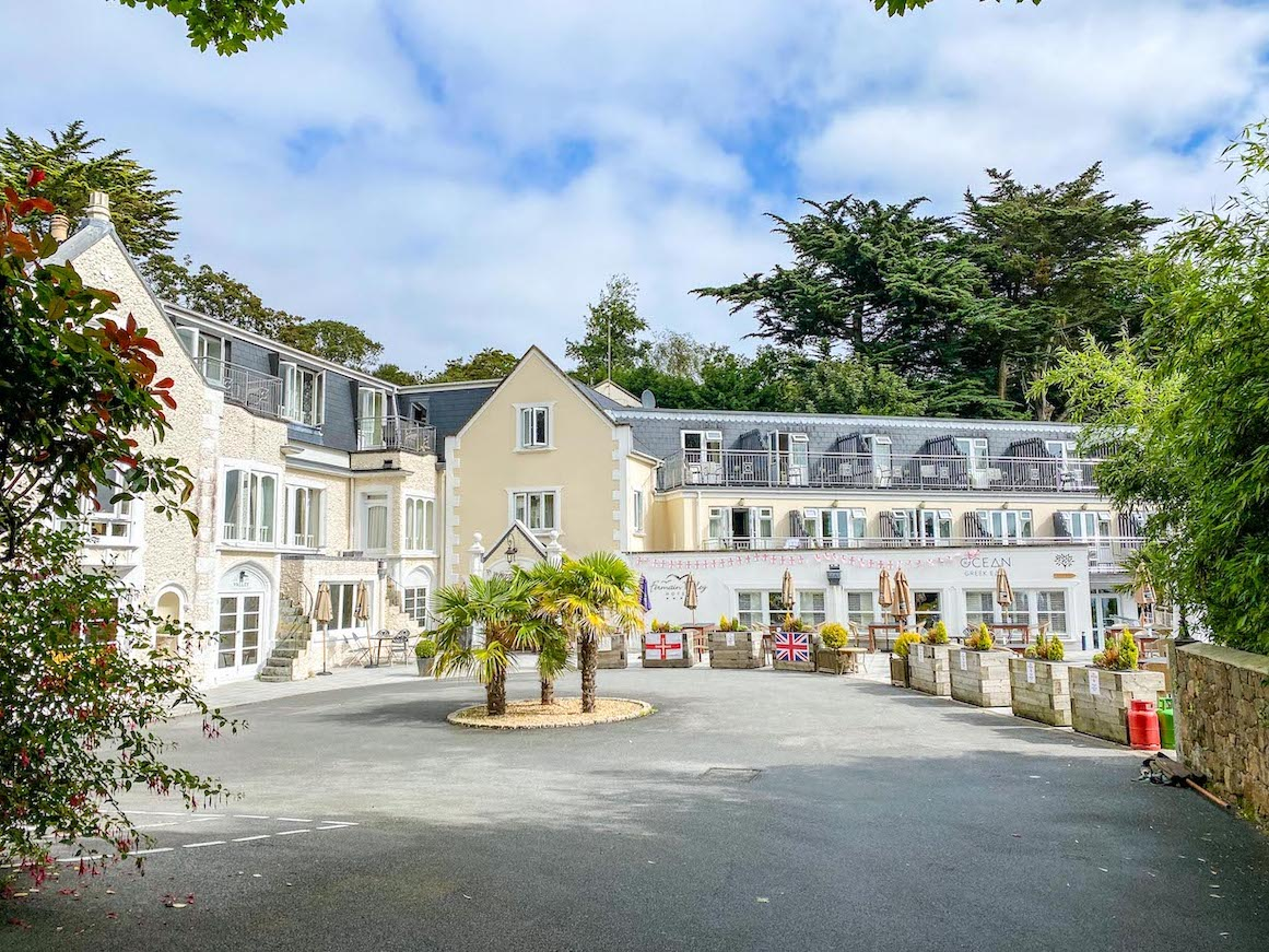 Guernsey itinerary, Fermain Valley hotel