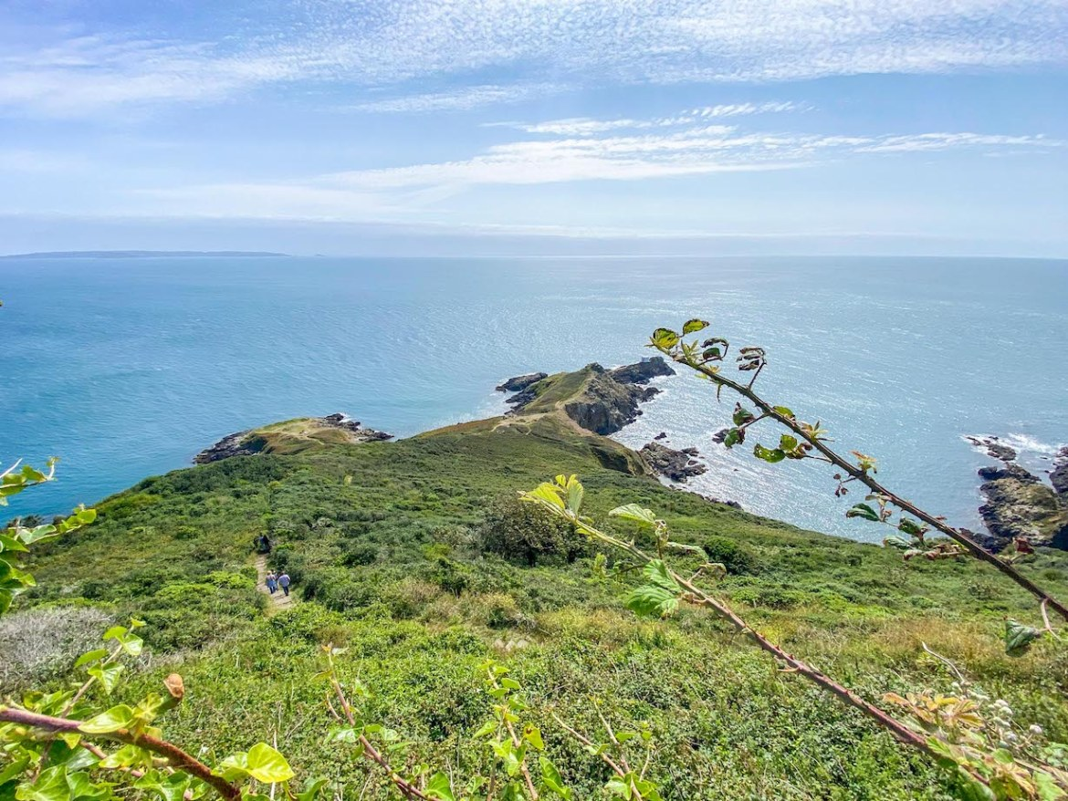 Things to do on Guernsey, Coastal Hike View