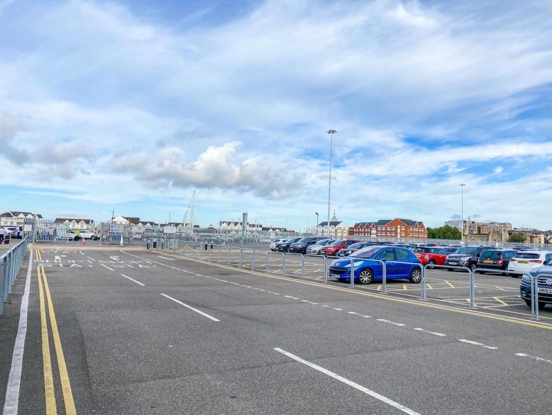 car parks at Southampton Ocean Cruise Terminal