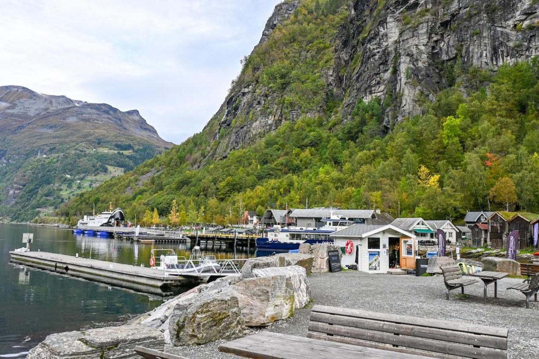 Bergen to Alesund, Geiranger Port