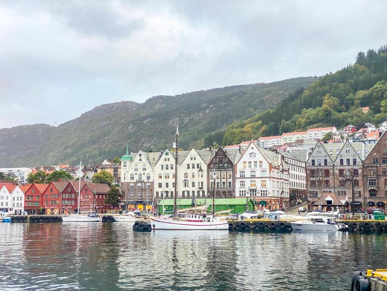 Bergen to Alesund, Bergen Harbour
