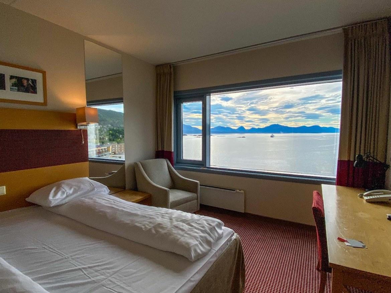 Atlantic Ocean Road Norway, Molde Accommodation