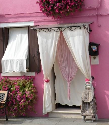Dressed door, Burrano