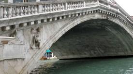 Graceful Curve of the Rialto Bridge