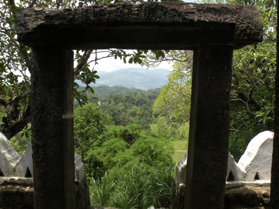As seen from Lankatilleka Temple