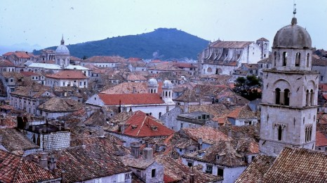 The rooftops of Dubrovnic