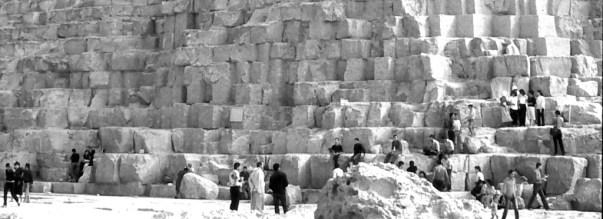 Big stones, bigger pyramid - Banner