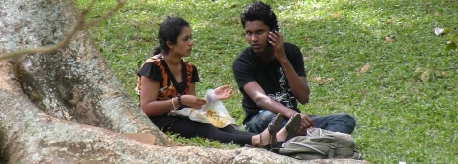 Royal Botanic Gardens, Paradeniya, Sri Lanka