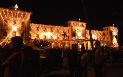 Galle Face Hotel Wrapped in Lights