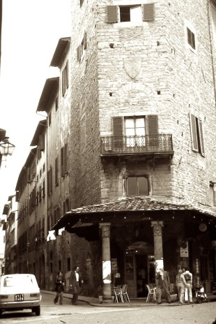Wandering the Back Streets - Florence Cafe