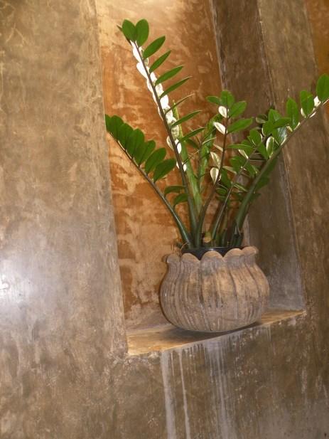 Niche with Stone Pot
