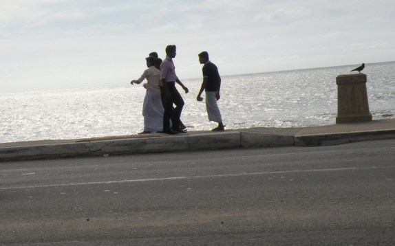 Road meets the Sea - Galle Face Green