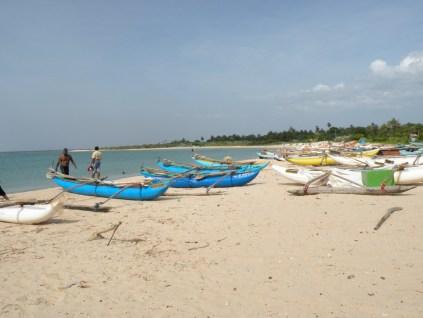 Boats at Batticaloa
