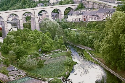 The Ravine and Aqueduct, Luxembourg 1976