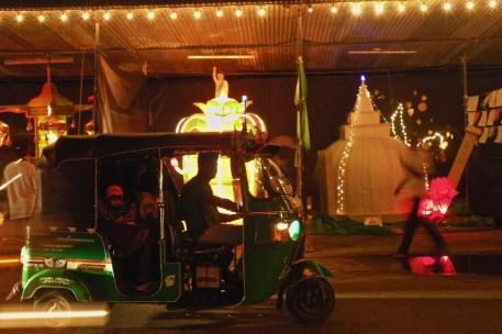 Tuktuk and Competition Lanterns