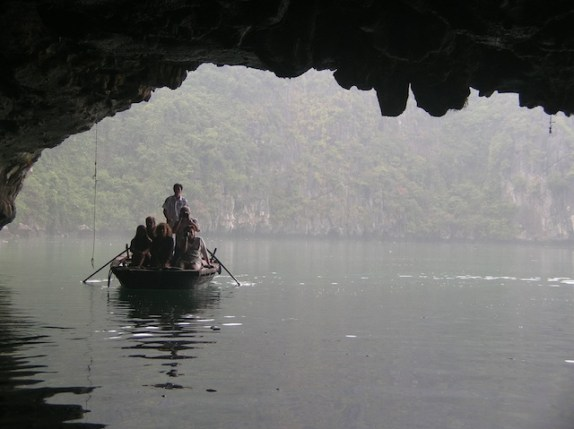 Through the Mist, Halong Grotto