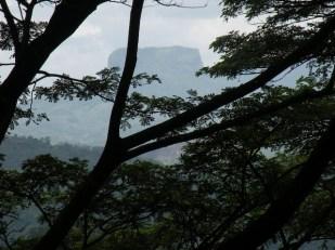 Bathalagala Kandha - Bible Rock - from the Kadugannawa Pass