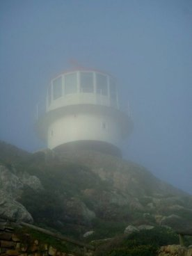 The lighthouse at Cape Point.