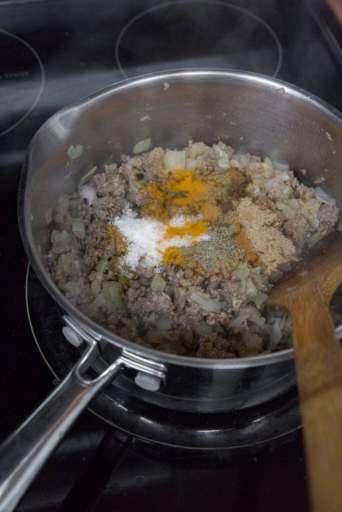 making of samosa