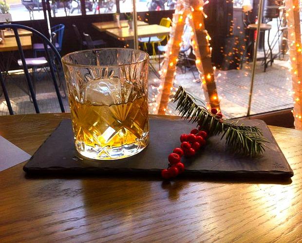 Ένα αλλιώτικο, γιορτινό old fashioned!