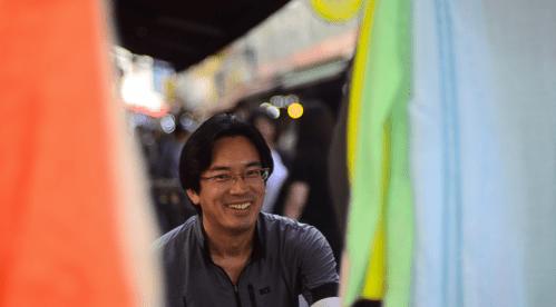Cheerful Korean Man