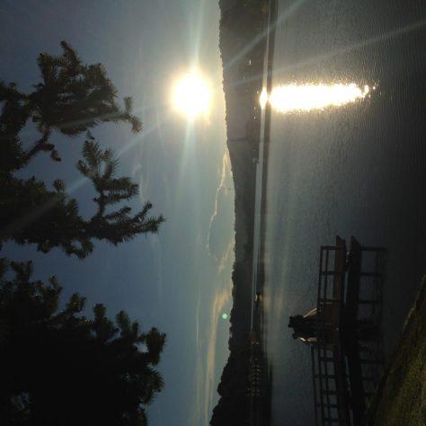 Sunrise at Xuan Huong Lake