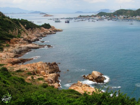 Scenic view from Nui Chua Coast