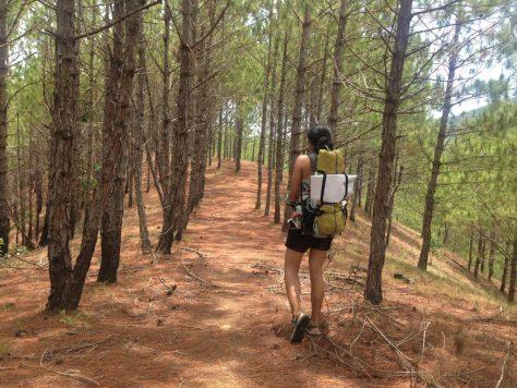 Ta Nang Trek: pack lightly!