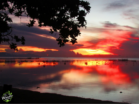 Sunrise at Hartman Beach - Backpacking Palawan
