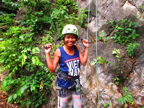 Ready to climb! Rock climbing philippines