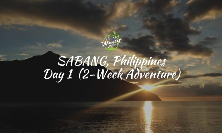 Solo Backpacking Palawan: Sabang Waterfalls and Sunset at Sabang Beach