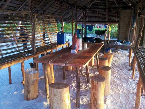 Punta Sebaring Campsite dining hall