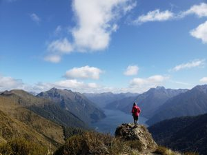 Kepler track is a 3-day loop hike with scenic mountain ranges!