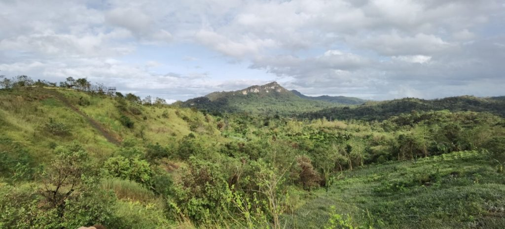 Sierra Madre view from Digos Hills