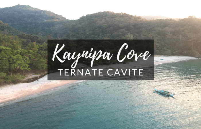 Kaynipa Cove Ternate Cavite Guide