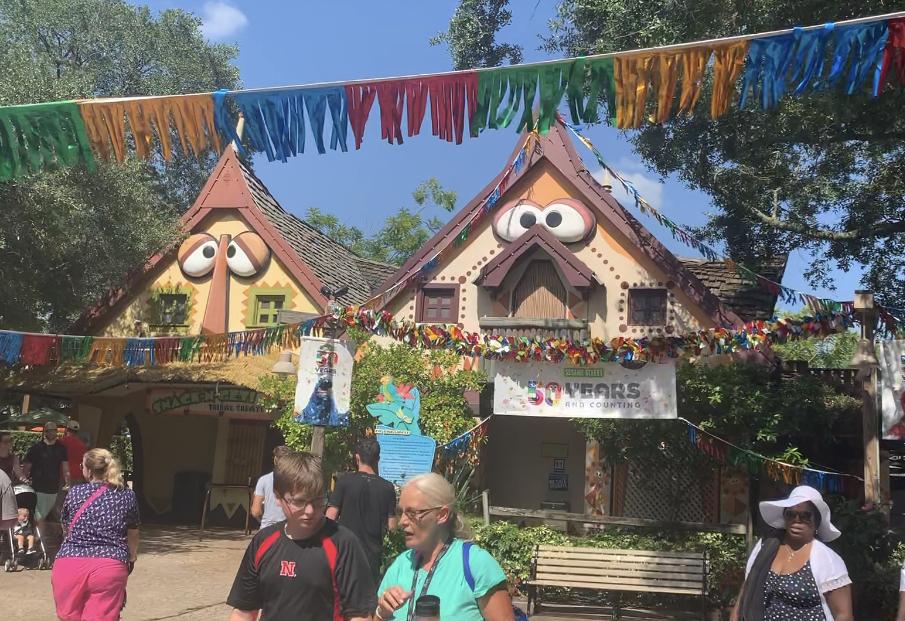 Busch Gardens Sesame Street Houses