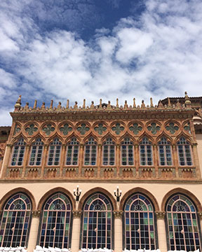Ca' d'Zan exterior architecture