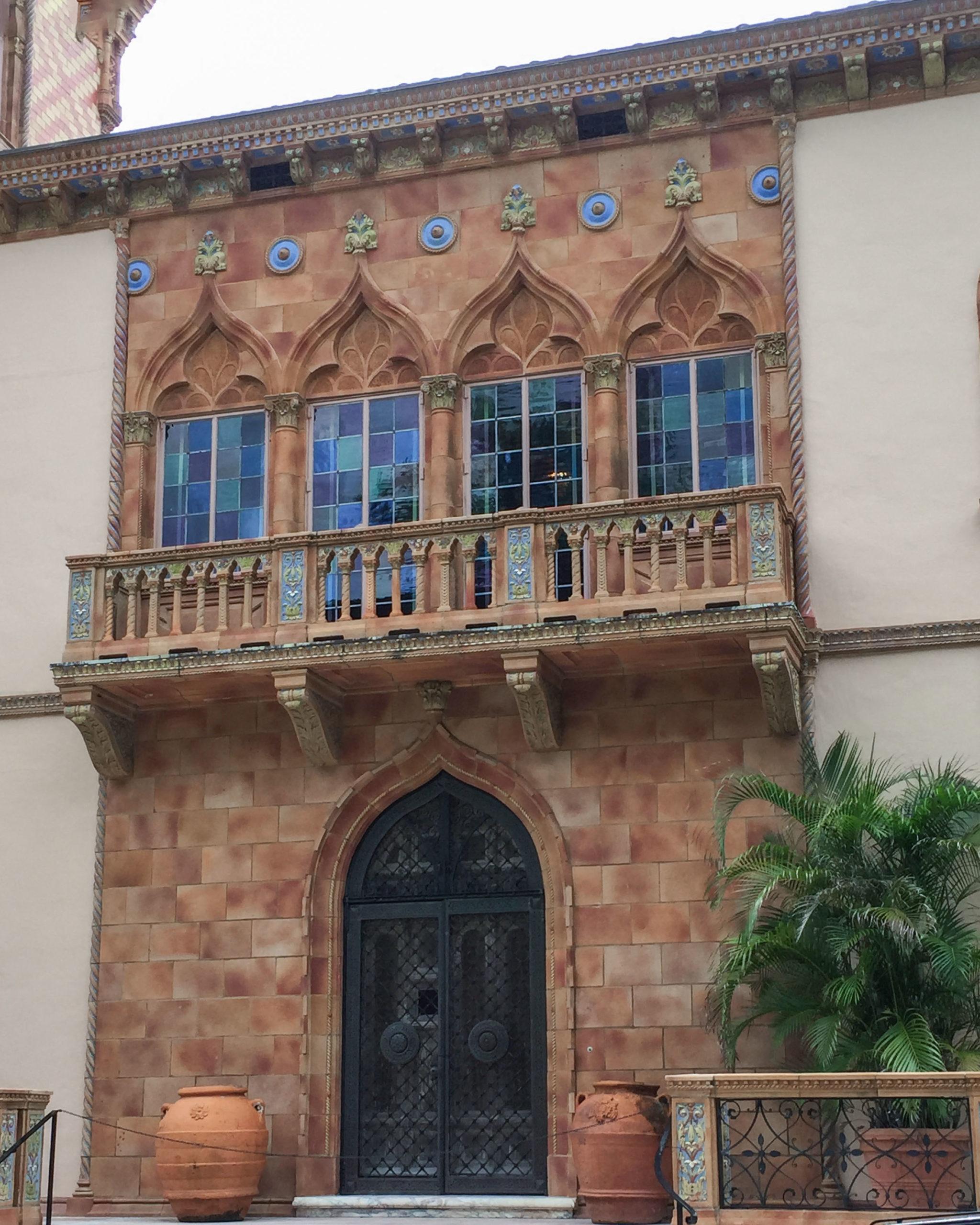Ca' d'Zan front doors