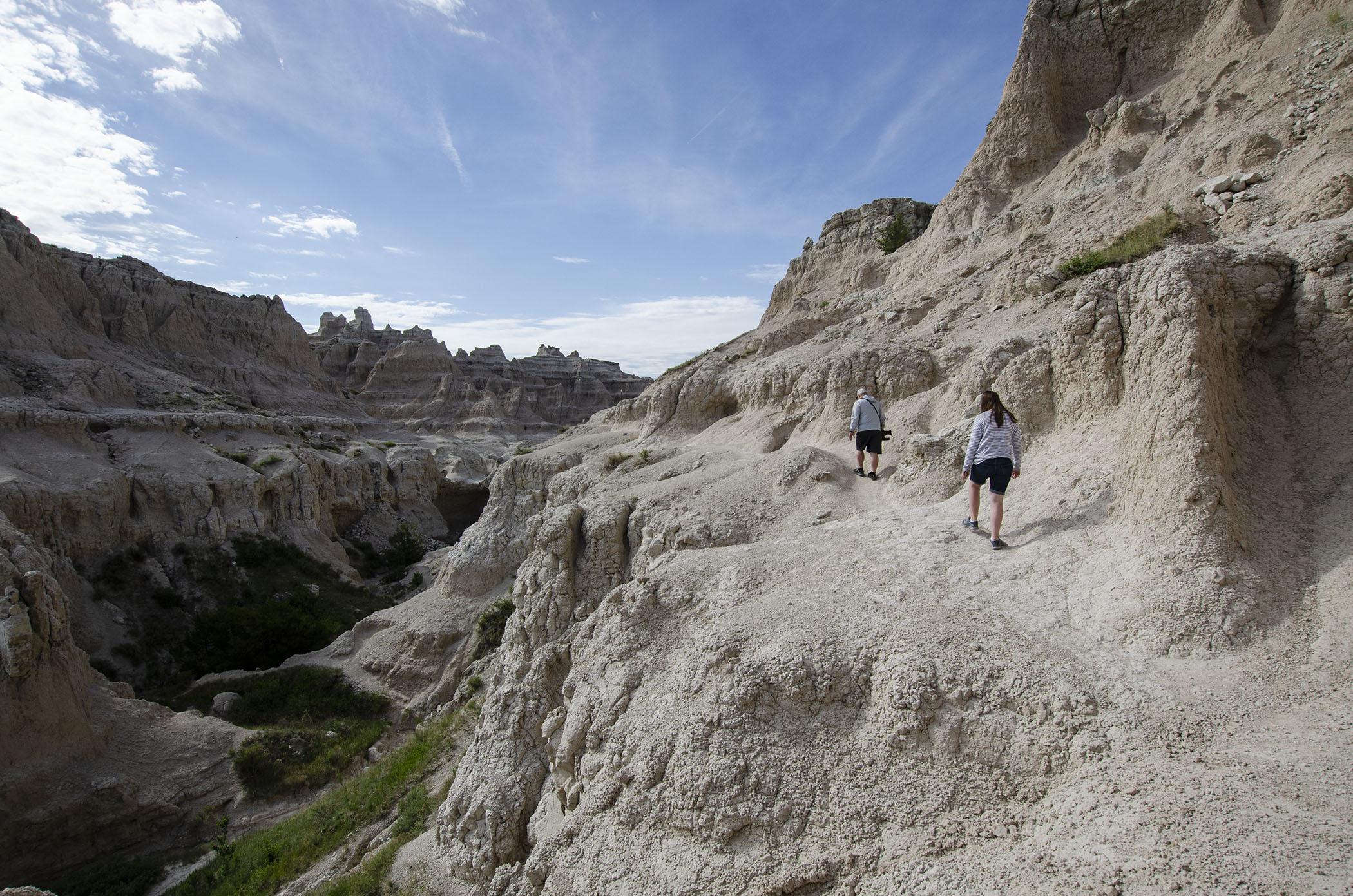 Notch Trail Emilie and Adam Hiking