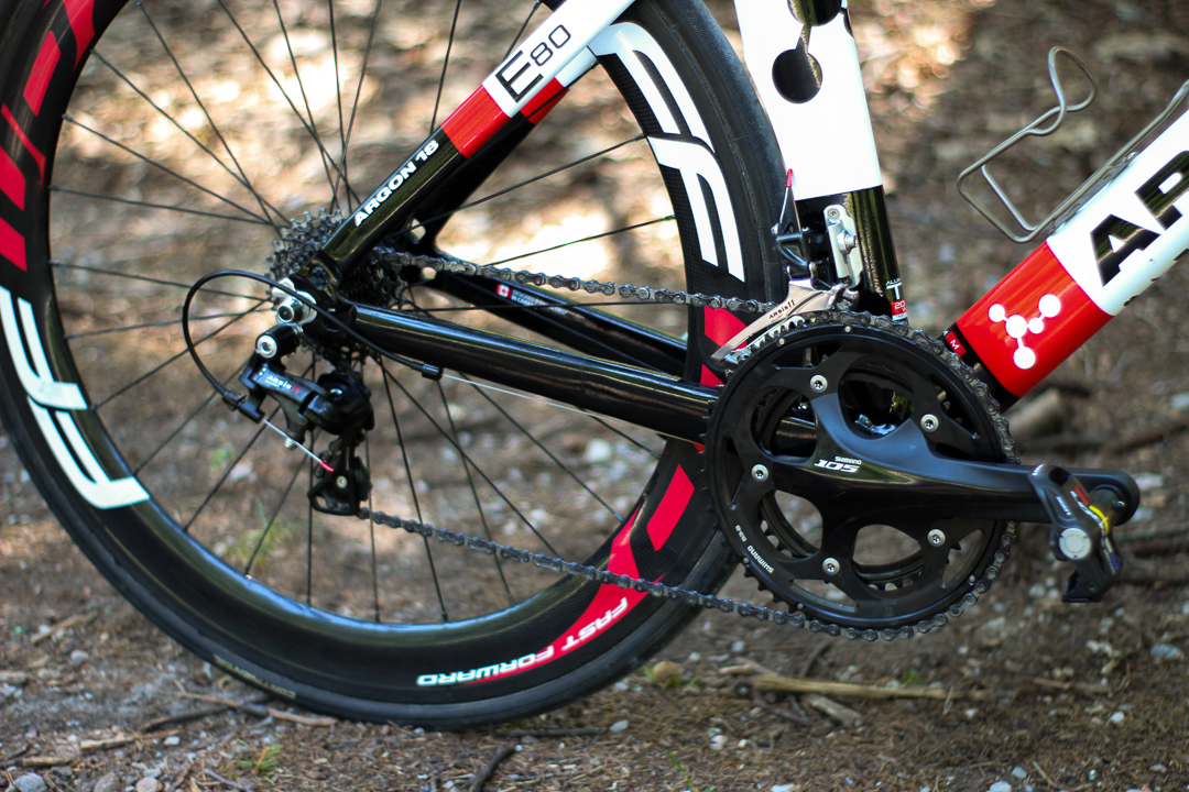 3d0520b5238 Argon18 E-80 Time Trial Bike Check - The Wannabe Racer